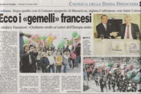 Presse Italie avril 2009